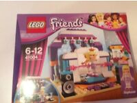 Lego friends rehearsal stage brand new sealed box