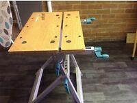 Portable wolf craft work bench