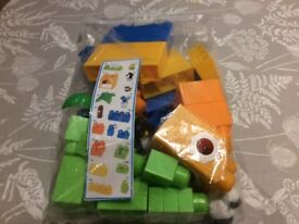 Mega Blocks, 47 pieces