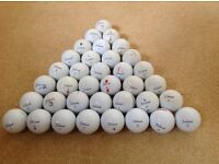 106 Used Golf Balls (mainly PRO V1) & 12 New Callaway Golf Balls