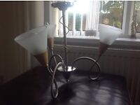 2 ceiling lights, in excellent condition , only £15 for the 2