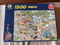 Jan Van Haasteren jigsaw puzzle, 1500 pieces, complete