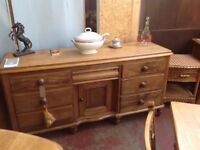 Victorian Pine Lincolnshire Sideboard