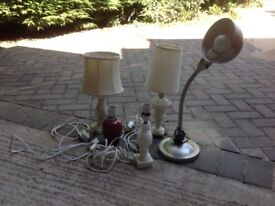 5 Small lamps