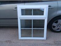 "UPVC Window 32 1/2"" wide 39 3/4"" high ( 825mm wide 1010mm high)"