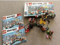 Lego Angry birds 75824 Pig city teardown with box