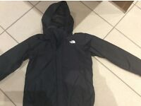 North face large lightweight boys jacket