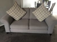 TWO 2 SEATER SOFAS