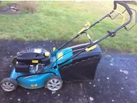 East start motor mower. Used only a few times and no longer required as mother has gone into a home.