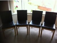 Set of 4 Dinning Room Chairs