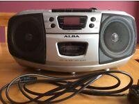 CD/Cassertte/Radio - Alba