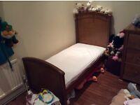 Mamas & Papas Summerhouse Cot Bed (x 2) & M&P Cot Top Changer