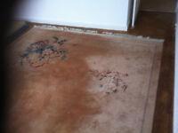 wool pile carpet rug