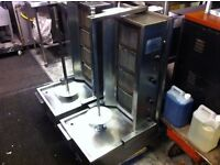 CATERING COMMERCIAL USED DONER KEBAB GRILL MACHINE FAST FOOD BBQ RESTAURANT FAST FOOD KITCHEN BAR
