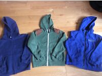 Boys hoodies and jacket -age 7-8