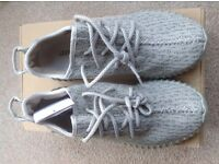 Adidas YEEZY Boost 350 trainer, Colour Moon rock, Size UK 7.5