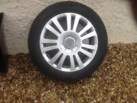 wheel and tyre for Citroen c4
