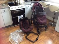Mother Care 3 in 1 Pram and Car Seat