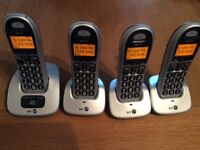 BT 4000 Quad system & answer phone