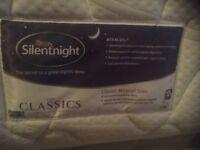 Silentnight single mattress,£65.00