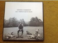 Vinyl record. George Harrison,s All things must pass