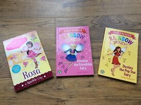 Set of three fairy books for young readers - all in immaculate condition!