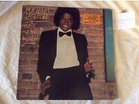 Vinyls. Michael Jackson, Stevie Wonder and Quadrophenia.