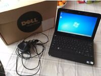 Small Dell Inspiron 1012 Mini Laptop with Box and Charger.