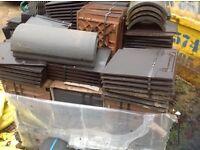 Sandtoft black 20/20 roof tiles 480 per pack