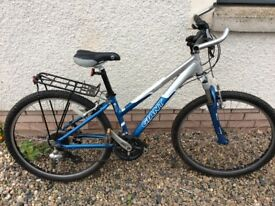 Ladies Giant Boulder Mo7ntain Bike,Small, Aluminium Frame, 24 Gears, Front Suspension £80