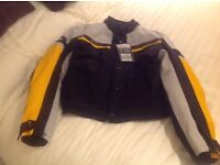 Ladies motorcycle jacket Size 14