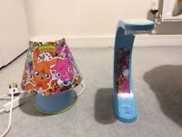 Moshy monster lamp and table light