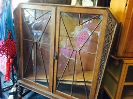 Vintage Art Deco China cupboard