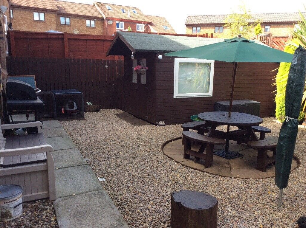 heavy duty workshopgarden shed 16ft x8ft - Garden Sheds East Kilbride