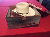 Resistol straw cowboy hat. Unworn American import in original box. Ideal for line dancing.