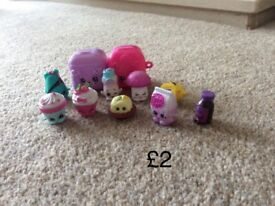 Collections of shopkins