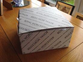 Boxed set of Royal Worcester Evesham Mugs