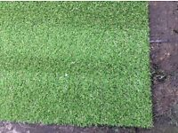 Artificial grass roll end, brand new, 17 mm thick, 6.5 x 4 m bargain, £180