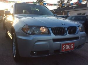 2006 BMW X3 3.0I AWD EXTRA CLEAN w/ Leather Panorama Roof