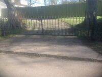 Beautiful Iron Driveway Gates
