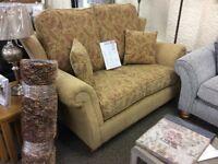 New showroom ex display 2 seater sofa