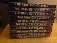 The real csi dvds 10 dvds