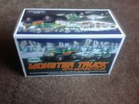 Amerada Hess monster truck with motorcycles