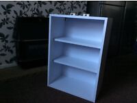 Kitchen Wall unit 500 mm with solid back panel.