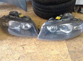 Audi A3 xenon headlights