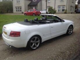 Audi A4 convertible diesel top of range
