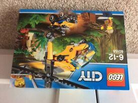 Lego city 60158 helicopter set unopened.