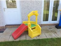 Little tykes outdoor slide & play house 9/10 condition