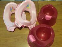 Potties and toilet seats