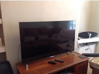 "LG LED TV for sale 4K UHD 3D smart 49"" inches with 4 sets of 3D specs"